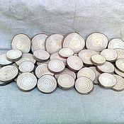Для дома и интерьера ручной работы. Ярмарка Мастеров - ручная работа Спилы - сосна. Handmade.