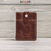 Сумки и аксессуары handmade. Livemaster - original item Leather wallet PARD. Wallet for documents. Handmade.