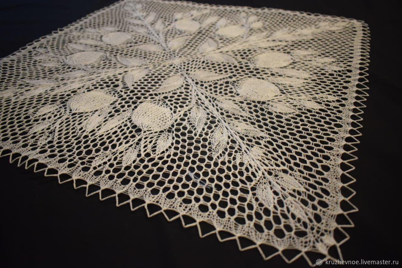Tablecloth-napkin 'Twigs', Tablecloths, Vologda,  Фото №1