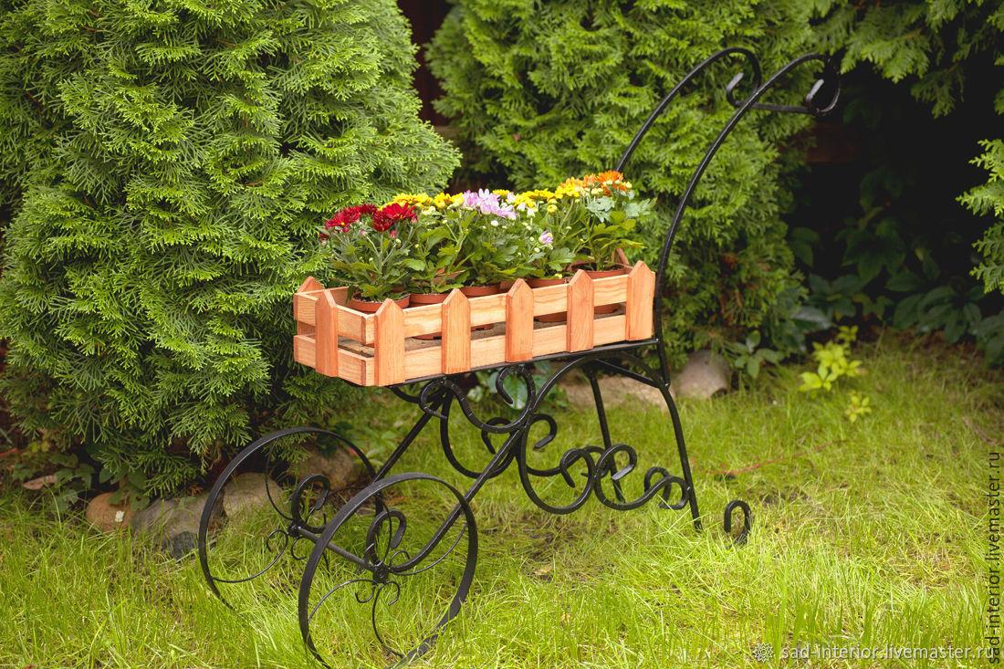 Садовая тележка с деревом, Изделия, Москва, Фото №1