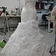 Одежда и аксессуары ручной работы. Ярмарка Мастеров - ручная работа. Купить свадебное платье  для Натальи. Handmade. Белый, платье с розами