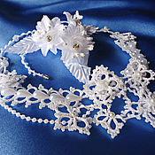 Necklace handmade. Livemaster - original item Wedding necklace