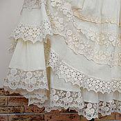 Одежда ручной работы. Ярмарка Мастеров - ручная работа Юбка летняя  для настоящей принцессы 2. Handmade.