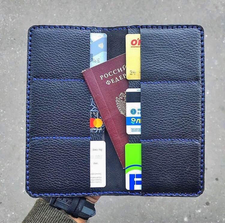 Обложка на на паспорт / документы «Luxury Style», Спортивная сумка, Москва,  Фото №1