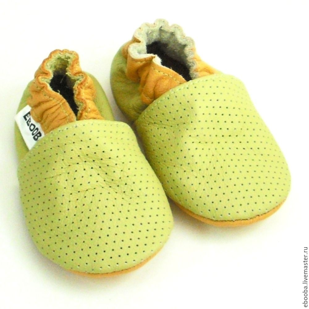 Baby Shoes, Toddler shoes, Leather Baby Shoes, Crib Shoes,Perforated, Babys bootees, Kharkiv,  Фото №1