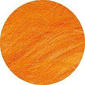 Материалы для творчества handmade. Livemaster - original item Mulberry silk(mulberry) Orange.10 gr Germany. Handmade.