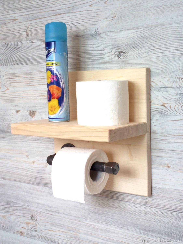 Оригинальный держатель туалетной бумаги своими руками фото 974