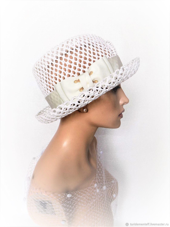 Шляпы ручной работы. Ярмарка Мастеров - ручная работа. Купить Шляпка Light dream. Handmade. Шляпка, красивая шляпка