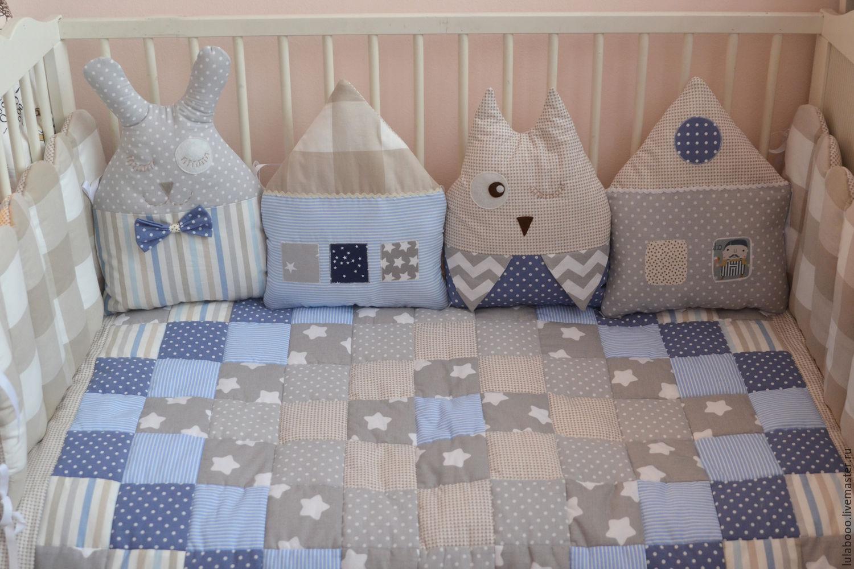 Бортики на кроватку для новорожденных картинки 2