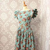 """Одежда ручной работы. Ярмарка Мастеров - ручная работа Платье """"Винтажная роза"""". Handmade."""