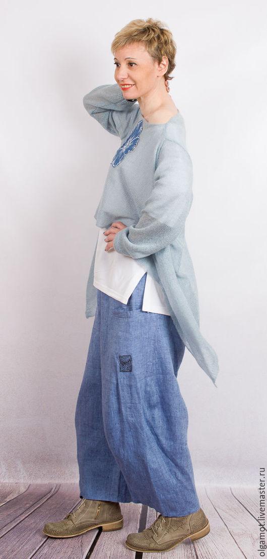 Кофта голубого цвета доставка