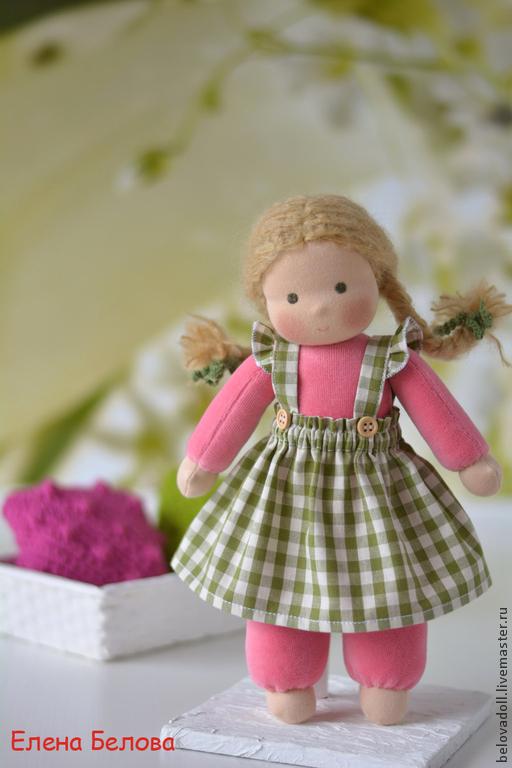 Вальдорфская игрушка ручной работы. Ярмарка Мастеров - ручная работа. Купить Вальдорфская кукла Малинка, 30 см. Handmade.