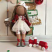 Куклы и игрушки ручной работы. Ярмарка Мастеров - ручная работа Интерьерная текстильная кукла Зимняя Фея). Handmade.