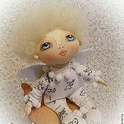 Куклы и игрушки ручной работы. Ярмарка Мастеров - ручная работа Текстильная кукла Ангел Илюшка.. Handmade.