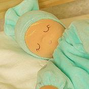 Куклы и игрушки handmade. Livemaster - original item Scops owl - Mint joy. Handmade.