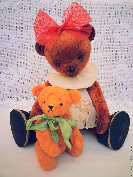 """Мишки Тедди ручной работы. Ярмарка Мастеров - ручная работа. Купить Мишка Тедди """"Шурочка"""". Handmade. Коричневый"""