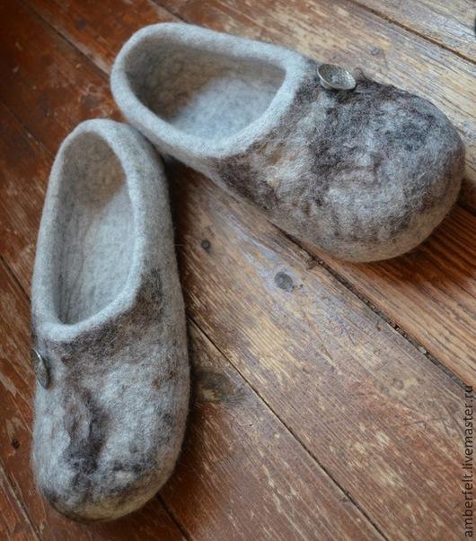 """Обувь ручной работы. Ярмарка Мастеров - ручная работа. Купить Тапки мужские """" Для него"""", эко стиль.. Handmade."""