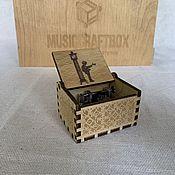 Музыкальные инструменты handmade. Livemaster - original item My Grandfather`s clock Music box. Handmade.
