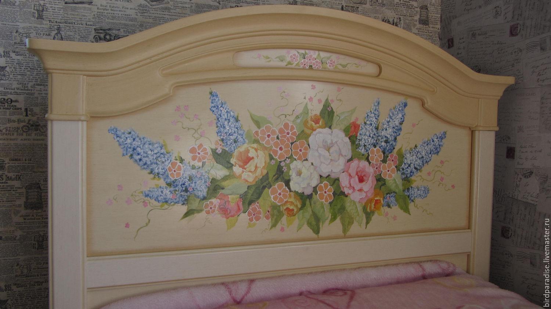 Кровати с росписью