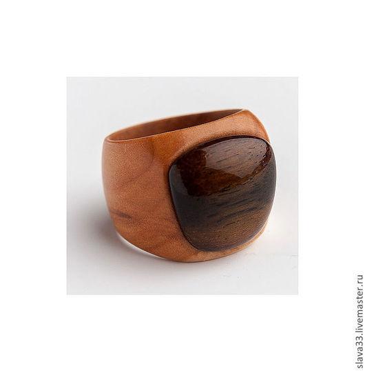 Кольца ручной работы. Ярмарка Мастеров - ручная работа. Купить Перстень из дерева. Handmade. Перстень на заказ, деревянный перстень