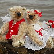 Свадебный салон ручной работы. Ярмарка Мастеров - ручная работа Свадебные мишки. Wedding bears. Handmade.