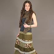 Одежда ручной работы. Ярмарка Мастеров - ручная работа юбка СКАЗКА. Handmade.