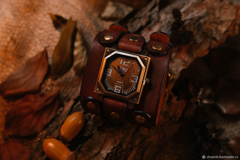 Наручные часы из кожи, Часы наручные, Рязань,  Фото №1