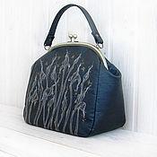 Сумки и аксессуары handmade. Livemaster - original item Bag NIGHT bag IRISES. Handmade.