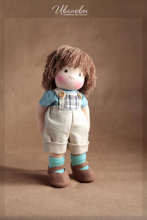 Вальдорфская игрушка ручной работы. Ярмарка Мастеров - ручная работа. Купить Вальдорфский мальчик. Handmade. Вальдорфская кукла, кукля для мальчика
