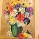 Картины цветов ручной работы. Ярмарка Мастеров - ручная работа. Купить Настроение. Handmade. Бежевый, картина в подарок, пастель