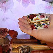 Винтажные предметы интерьера ручной работы. Ярмарка Мастеров - ручная работа Шкатулочки фарфоровые, винтаж, Китай. Handmade.