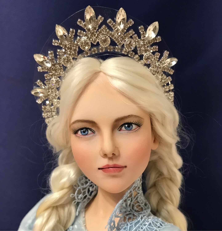 Снегурочка. Авторская кукла, Куклы и пупсы, Омск,  Фото №1