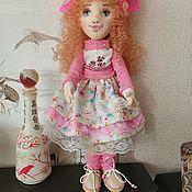 Шарнирная кукла ручной работы. Ярмарка Мастеров - ручная работа Шарнирная кукла: Розочка. Handmade.