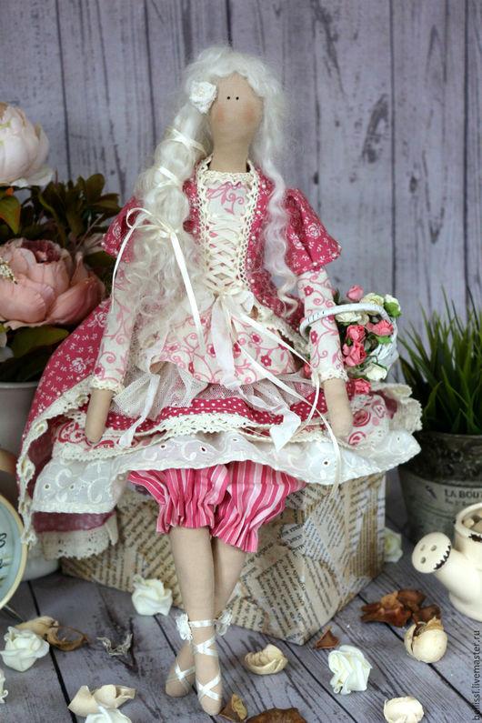 Куклы Тильды ручной работы. Ярмарка Мастеров - ручная работа. Купить Интерьерная кукла Николь. Handmade. Коралловый, интерьерная кукла