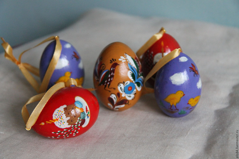 Расписать деревянное яйцо своими руками