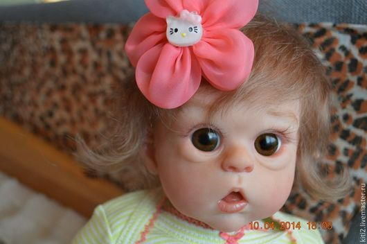 Куклы-младенцы и reborn ручной работы. Ярмарка Мастеров - ручная работа. Купить Эльфиечка,Офелия. Handmade. Кремовый, ребернок, винил