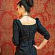 Платья ручной работы. платье из итальянской жаккардовой шерсти с добавлением шелка. ЯблониЦвет (yablonicvet). Интернет-магазин Ярмарка Мастеров.