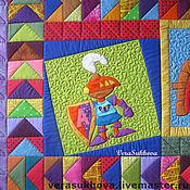 """Для дома и интерьера ручной работы. Ярмарка Мастеров - ручная работа Коврик детский """"Стражники"""". Handmade."""