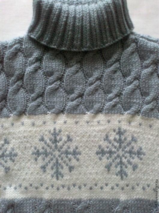 Кофты и свитера ручной работы. Ярмарка Мастеров - ручная работа. Купить Свитер вязанный детский. Handmade. Серый, зимняя одежда