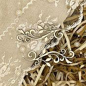 Вырубки для скрапбукинга ручной работы. Ярмарка Мастеров - ручная работа Чипборд Вензелюшки. Handmade.