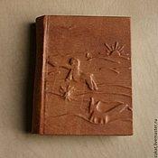 Канцелярские товары ручной работы. Ярмарка Мастеров - ручная работа Кожаный блокнот Маленький принц. Handmade.