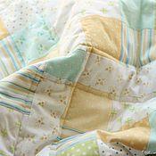 Для дома и интерьера ручной работы. Ярмарка Мастеров - ручная работа Нежное одеялко в кроватку. Handmade.