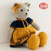 Куклы и игрушки ручной работы. Ярмарка Мастеров - ручная работа Медвежонок девочка Бесплатная доставка. Handmade.