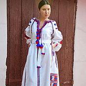 Одежда handmade. Livemaster - original item Boho dress embroidered style Vita Kin, Bohemian, ethnic. Handmade.