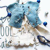 Работы для детей, ручной работы. Ярмарка Мастеров - ручная работа Платье для девочки Вязаное Белый Нежный Воздушный. Handmade.