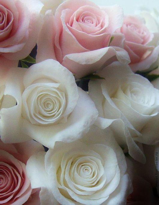 """Свадебные украшения ручной работы. Ярмарка Мастеров - ручная работа. Купить шпильки розы """"Свадебные"""". Handmade. Украшение свадебное, свадьба"""