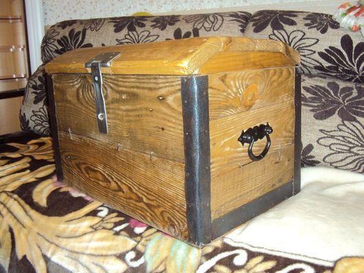 Мебель ручной работы. Ярмарка Мастеров - ручная работа. Купить Сундук из дерева. Handmade. Сундук деревянный, мебель из дерева, из дерева