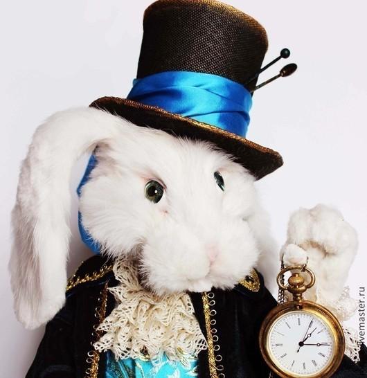 """Коллекционные куклы ручной работы. Ярмарка Мастеров - ручная работа. Купить Белый кролик из """"Алисы в стране Чудес"""". Handmade."""