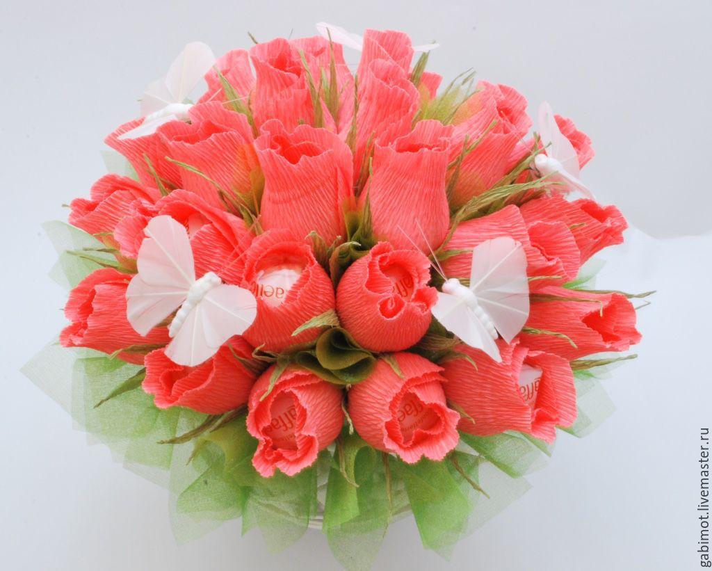 Цветы, заказ и доставка букетов из конфет москва