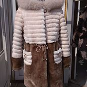 Одежда handmade. Livemaster - original item Children`s coat of Mouton. Handmade.